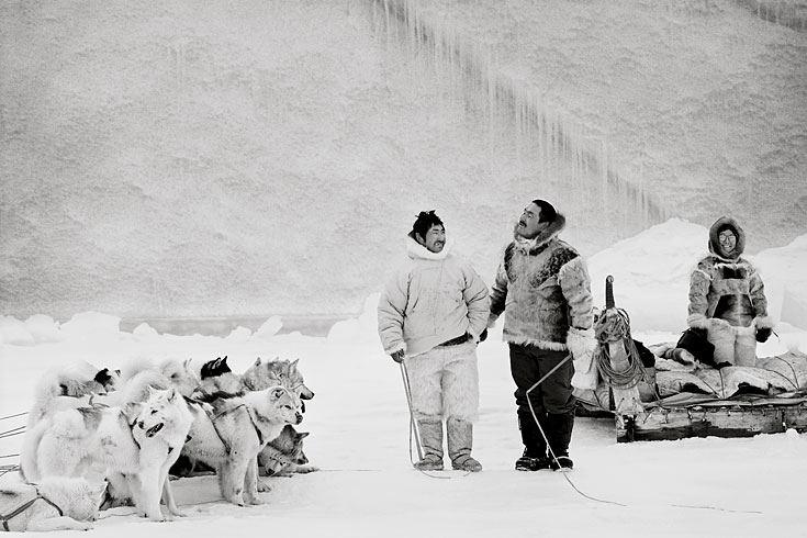 """Foto-Buch """"Die letzten Jäger der Arktis"""""""