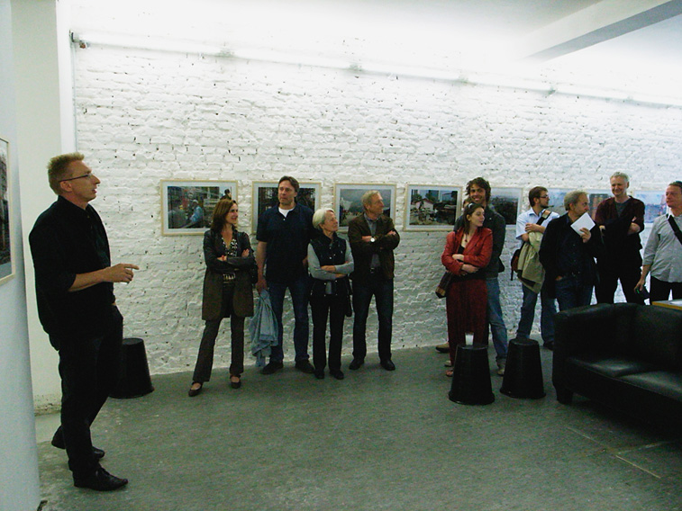 Bilder von der Vernissage Thomas Kummerow