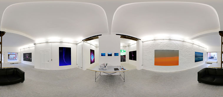 Blick in die Ausstellung von Christian Block